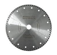 Disco diamantado general de obra gama profesional turbo
