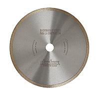 Disco diamantado porcelánico / cerámica gama profesional continuo